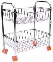 Stainless Steel Fruit & Vegetable Trolley