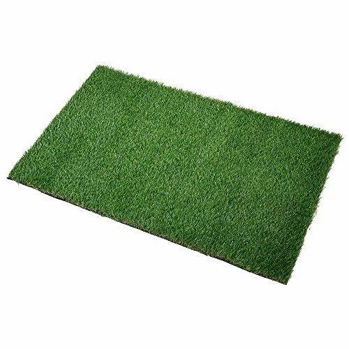 Green Plastic Grass Mat, Rs 65 /square