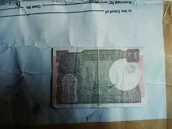 One Rupee Indian Note