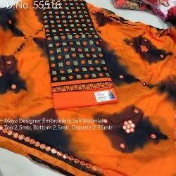 Salwar Kameez Semi Stitched