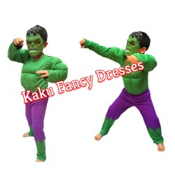 Kids Hulk Fancy Dress Costume