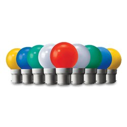 Wipro Garnet Safelite 0.5W Coloured LED Bulb, Voltage: 240 Vac