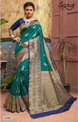 Fancy Festive Wear Banarasi Silk Saree