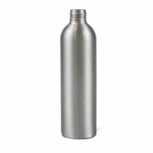 Silver Aluminium Bottle, Packaging Type: Box