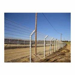 Metal Boundary Fencing