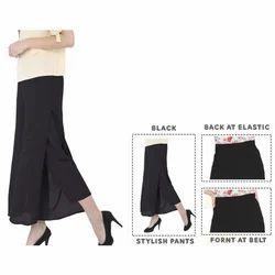 Black Layered Pants