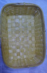 Bamboo Rectangle Basket