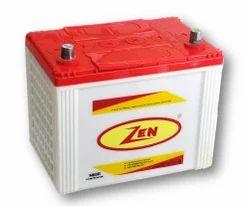 Zen Automotive Batteries N60 R/L, Warranty: 24 Months