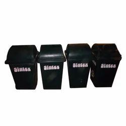 Black Sintex Plastic Dustbin