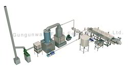 Continuous Namkeen Fryer with Wooden Based Thermic Boiler