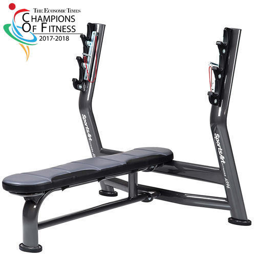 Groovy Commercial Fitness Sportsart A 996 Olympic Flat Bench Press Gmtry Best Dining Table And Chair Ideas Images Gmtryco