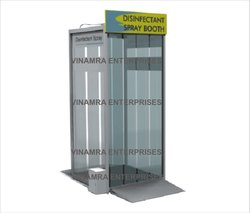 Disinfectant Spray Tunnel Sanitizer Booth Walking Chamber
