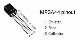 MPSA44 Bipolar Transistor