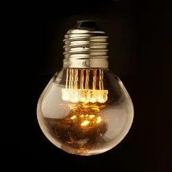 Round Decorative LED Bulb, Voltage: 10-49V