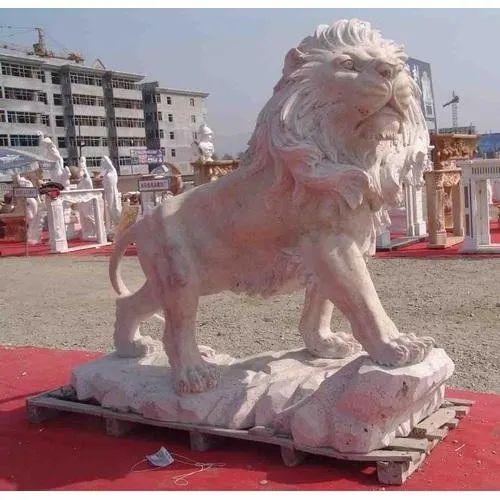 Lion FRP Statue