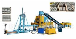 Fully Automatic Tracker Interlocking Block Making Machine