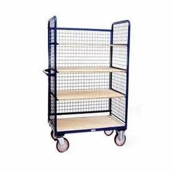 Manual Cage Rack Trolley
