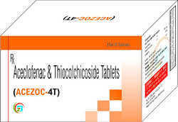 Aceclofenac 100mg , Thiocolchicoside 4mg Tablet