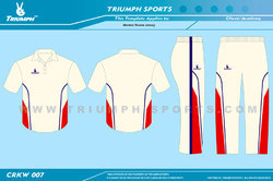 White Color Cricket Clothing