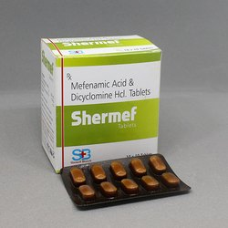 Mefenamic Acid And Dicyclomine Hcl. Tablets