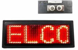 PB-LED PVC Name Badge