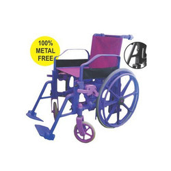 Plastic Wheelchair 100 % Metal Free