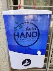 Auto hand sanitizer  system