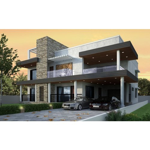 Residential Projects Villa Construction Service, Supplier End, Pan India