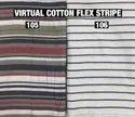 Virtual Cotton Flex & Stripe Fabric