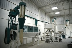 Semi-Automatic Atta Chakki Plant