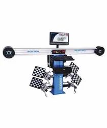 Manatec wheel alignment machine 3D