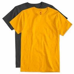 Cotton M And L Mens Plain T-Shirt