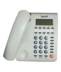 Beetel White Phone