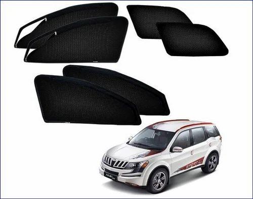 Zipper Magnetic Sun Shades Car Curtain For Mahindra Xuv 500 At Rs