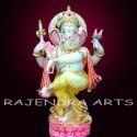 Dancing Marble Ganesh Ji