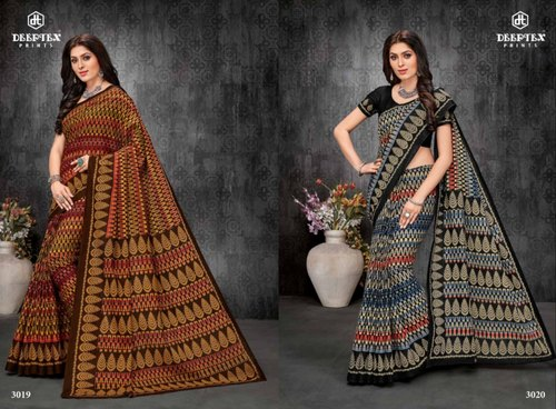 449449396d Printed Casual Wear Deeptex Mother India Pure Cotton Sarees Vol 28 ...