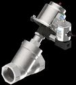 Pneumatically Operated 2/2 Way Angle Seat Valve