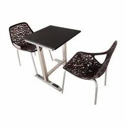 2 Seater Restaurant Table and Chair Set