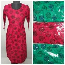 Girls Long Designer kurti