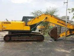 10000 Kg 60 HP Used Excavator Hyundai 210, Maximum Bucket Capacity: 0.2 cum