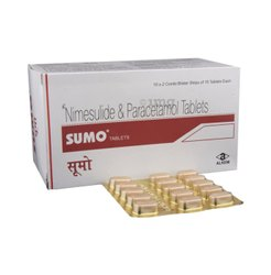 Paracetamol SUMO TABLETS, For Personal, Packaging Type: 1*15