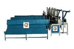 Semi-Automatic Chain Link Fence Making Machine