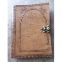 Leather Diary With Lock