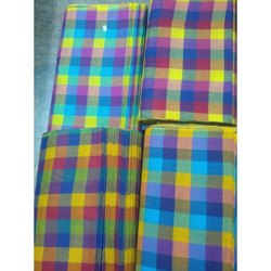 Dyed Cotton Check Fabric