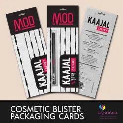 Kajal Blister Packaging Cards