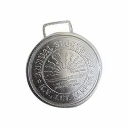 Silver Plated Sports Medal