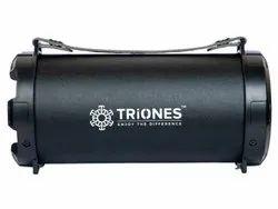 Black Cube Triones Bluetooth Speaker - 002, Size: Large, Model Name/Number: TBS-002