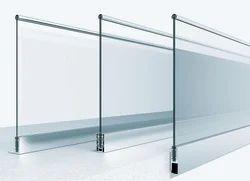 Balcony Aluminium Railing System, Floor