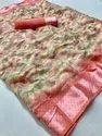 Ipl - 6 Cotton Silk Satin Patta Saree