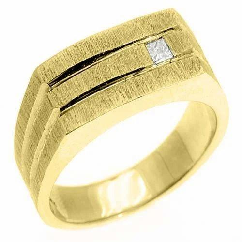 Mens Gold Ring at Rs piece Mens Gold Ring